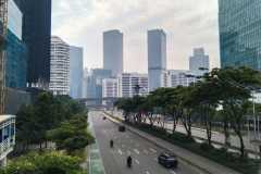 Cuaca Jakarta diperkirakan cerah berawan
